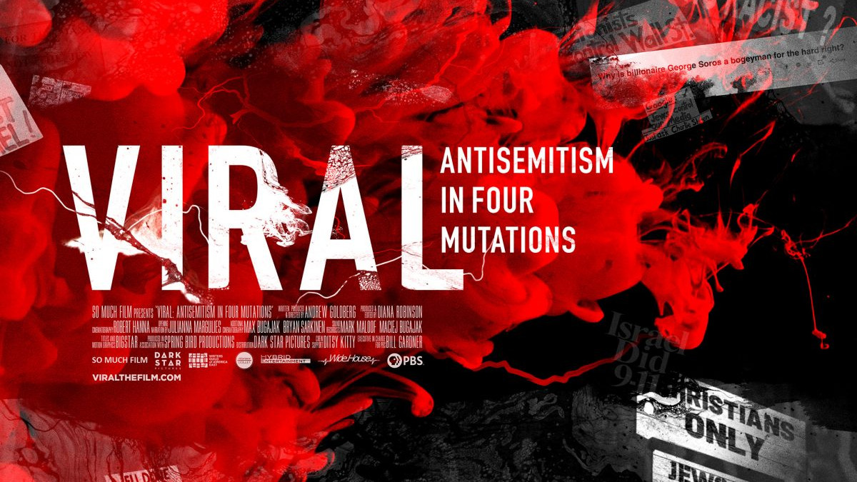 Il documentario 'Viral' sull'antisemitismo