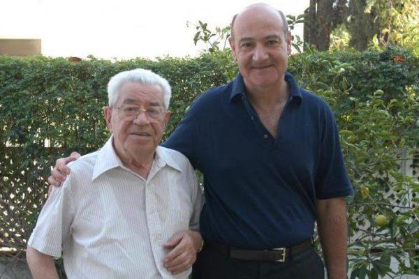 Da sinistra, Moshe Bejski e Gabriele Nissim