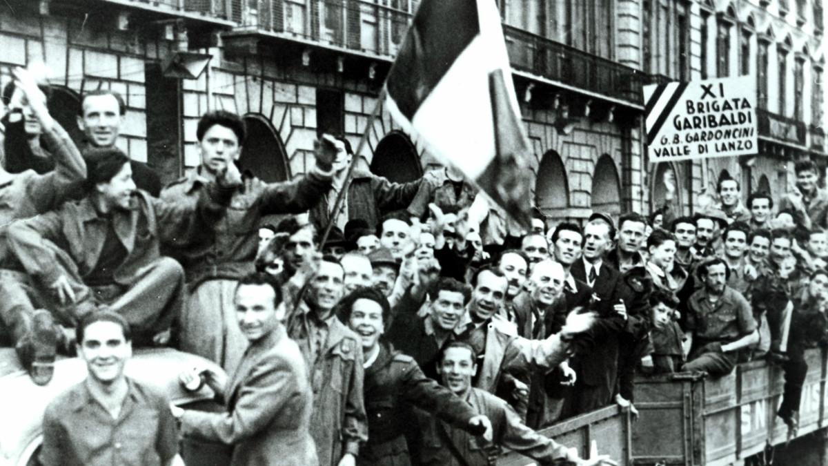 Un'immagine della Liberazione