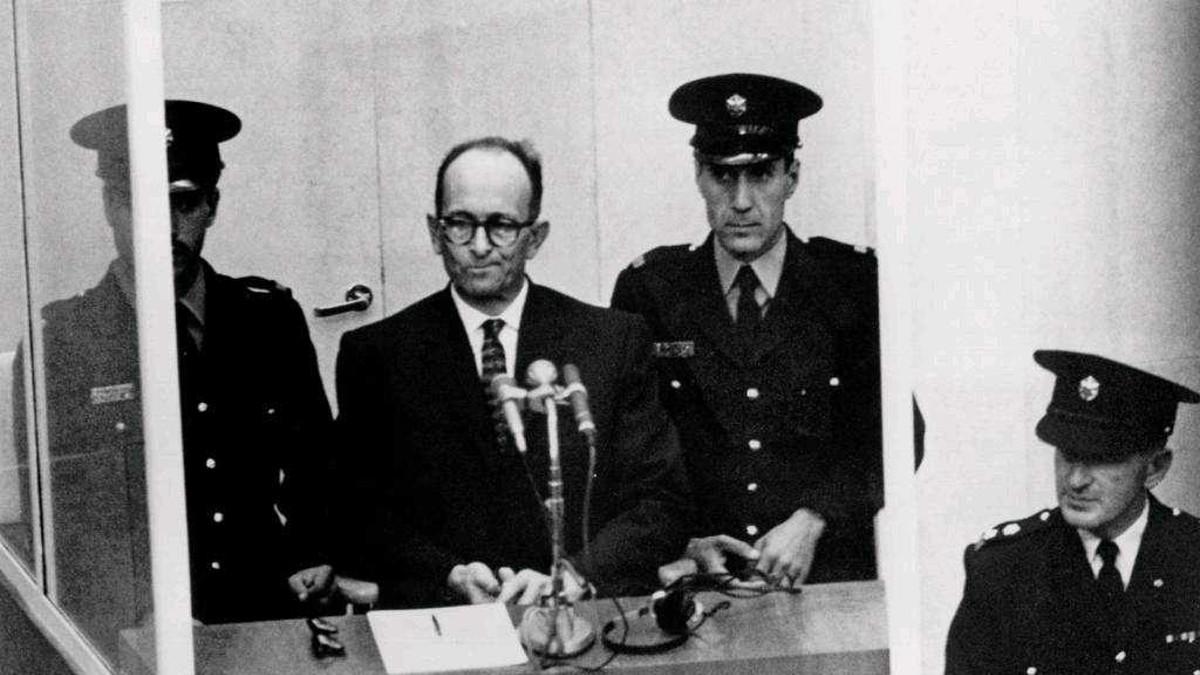 Adolf Eichmann al processo a Gerusalemme