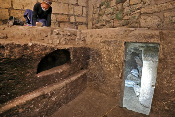 stanze sotterranee trovate a Gerusalemme accanto al Muro occidentale