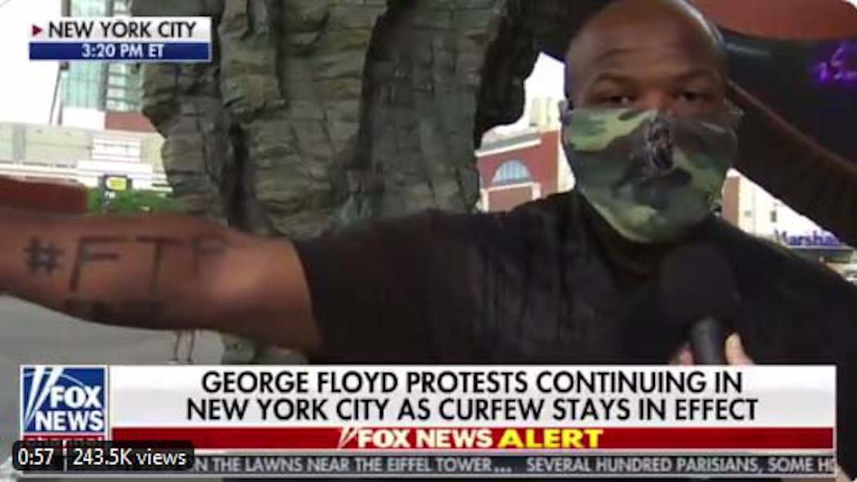 Manifestante a New York