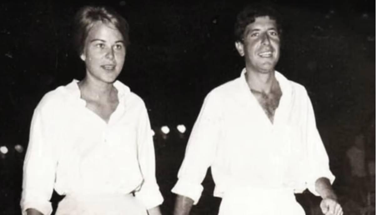Leonard Cphen e la moglie Marianne