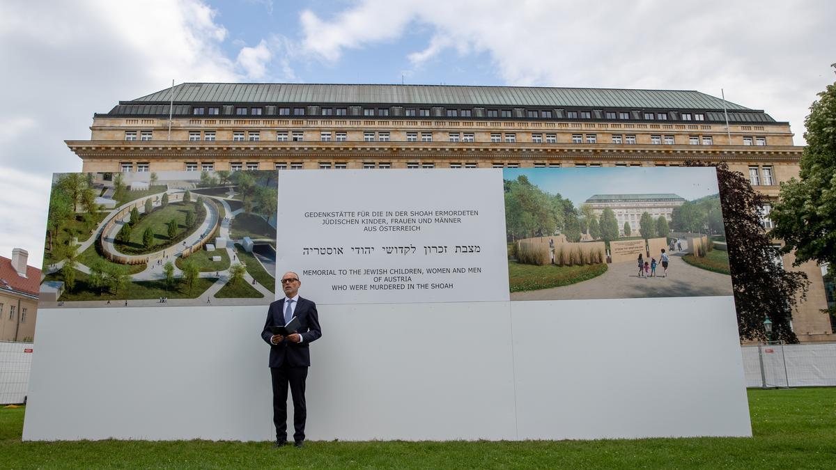 Memoriale della Shoah in costruzione a Vienna