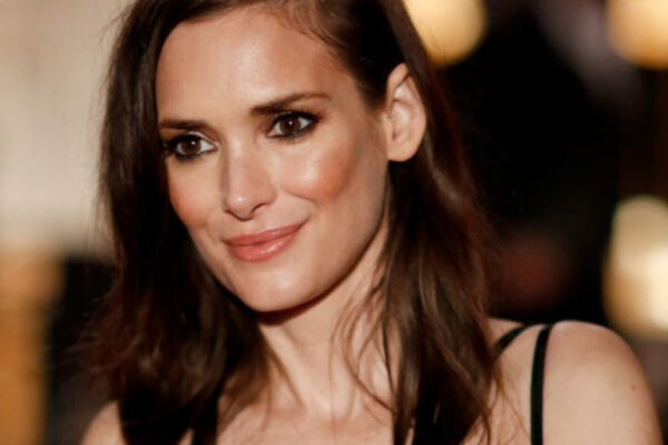 L'attrice Winona Ryder