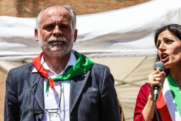 foto di fabrizio de sancris, presidente anpi roma