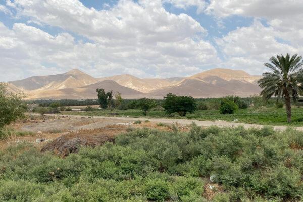 la valle del Giordano