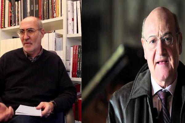 Da sinistra, Marco Belpoliti e Gabriele Nissim
