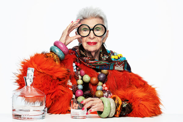 Iris Apfel, anziana stilista ebrea di origini askenazite