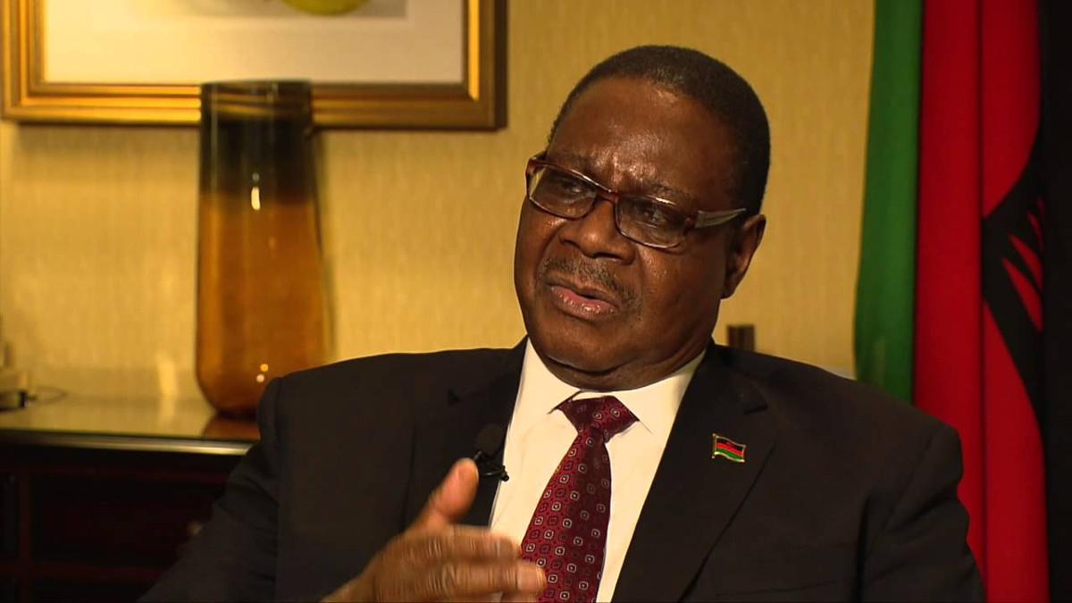 Il presidente Malawi