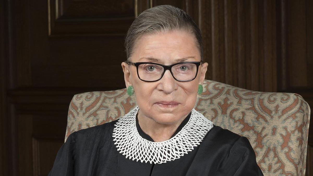 La giudice americana Ruth Bader Ginsburg