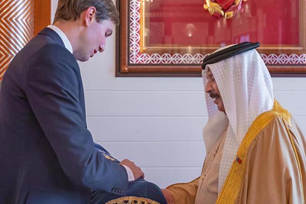 Kushner dona Torah al re Bahrein