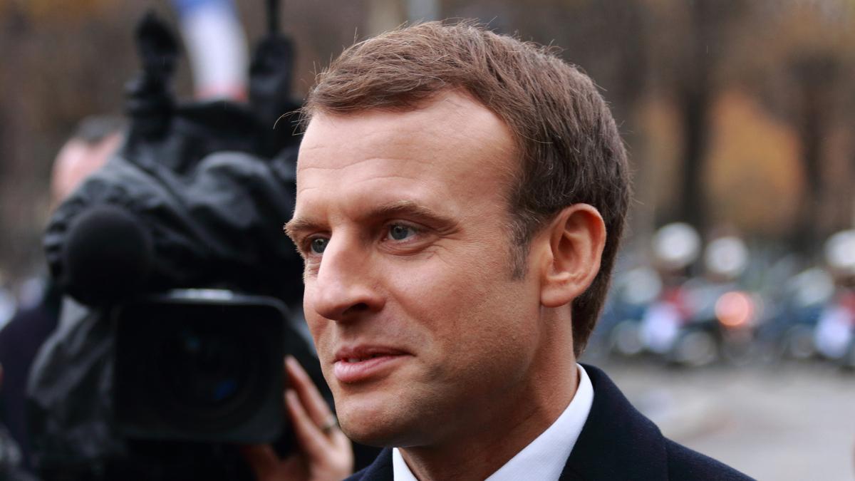 Il presidente francese Emmanuel Macron ((Foto: CC-BY-SA,GNU Free Documentation License,Wikimedia Commons)