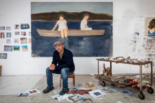 Gideon-Rubin-nel-suo-studio-2020 Foto di Richard Ivey