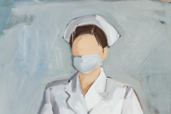 Gideon Rubin, The Nurse, particolare