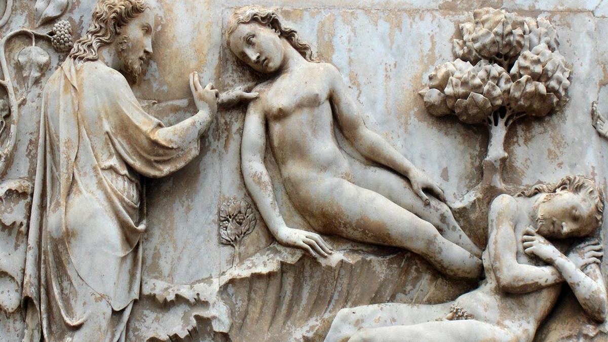 La creazione di Eva dalla costola di Adamo