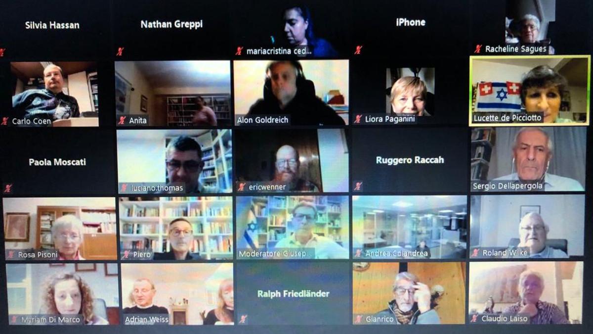 L'incontro su Zoom sull'attualità israeliana con Sergio Della Pergola