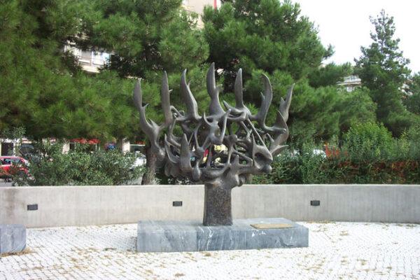 Memoriale della Shoah a Salonicco in Grecia (Foto: commonswikimedia, Arie Darzi)