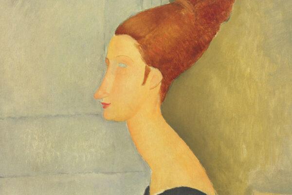 Un dipinto di Amedeo Modigliani