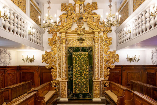 la sinagoga italiana di Gerusalemme