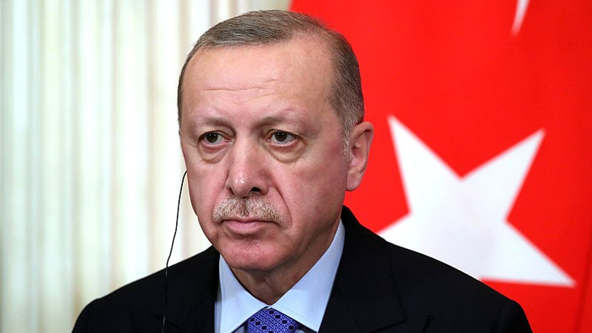 Il presidente Tayyp Erdogan
