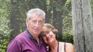 Vito Foà con la moglie Ruth