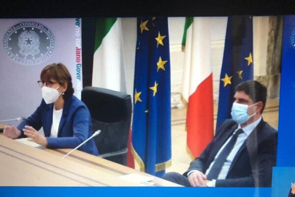 Milena Santerini all'evento online dell'Unar