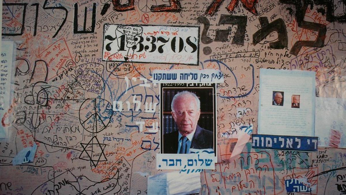 Yitzhak Rabin (foro The jewish Nationa Library)