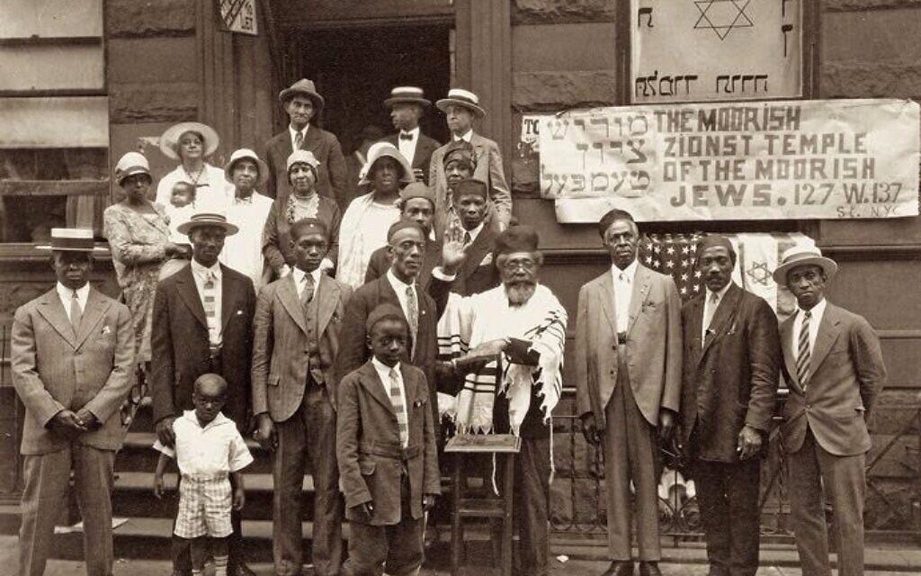 The Moorish Zionist Temple, Harlem (Photograph: James van der Zee, 1929)