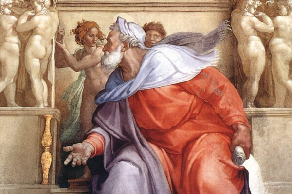 Ezechiele di Michelangtelo