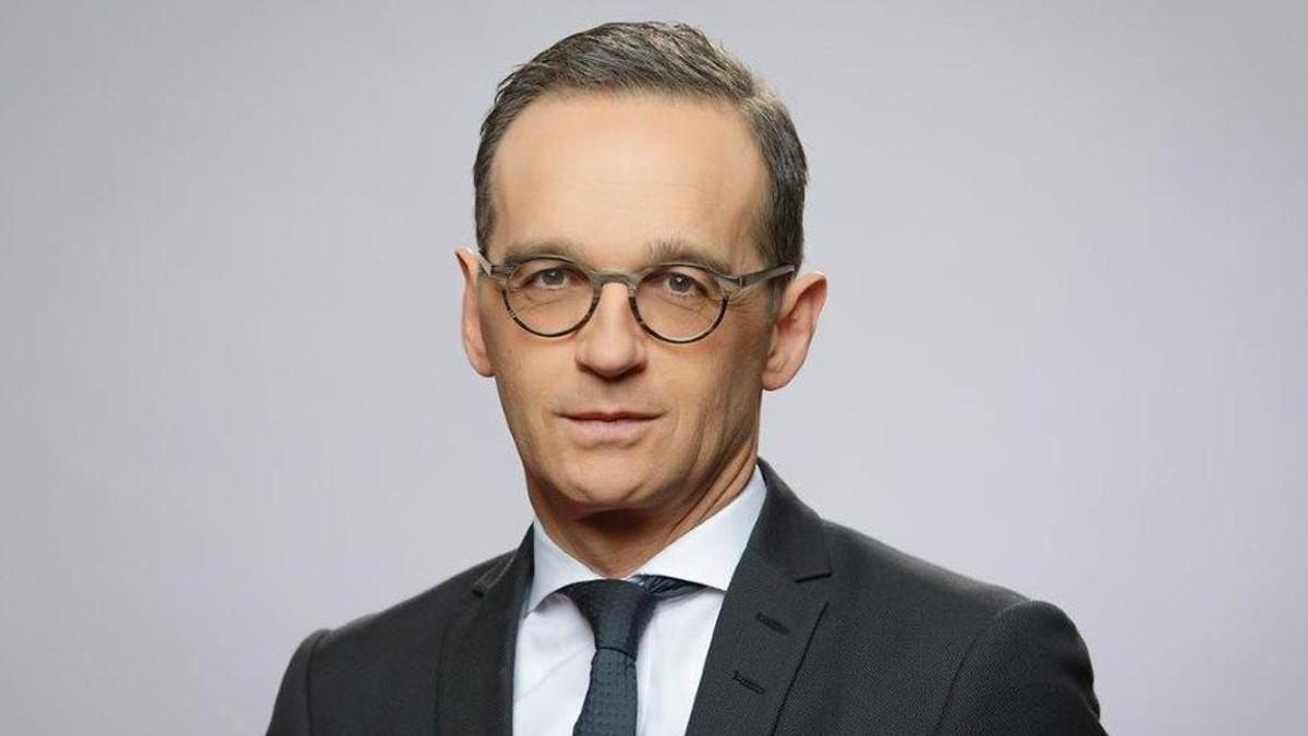 Il ministro tedesco degli esteri Heiko Maas