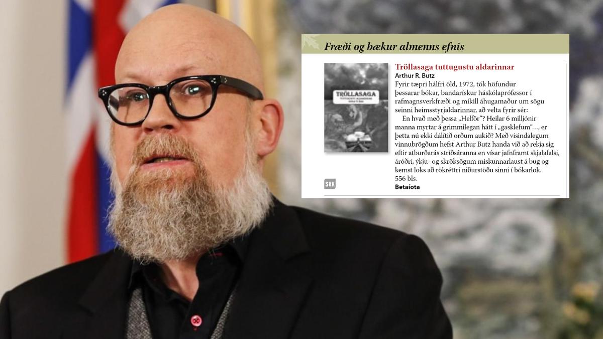 presidente dell'associazione editori di Islanda
