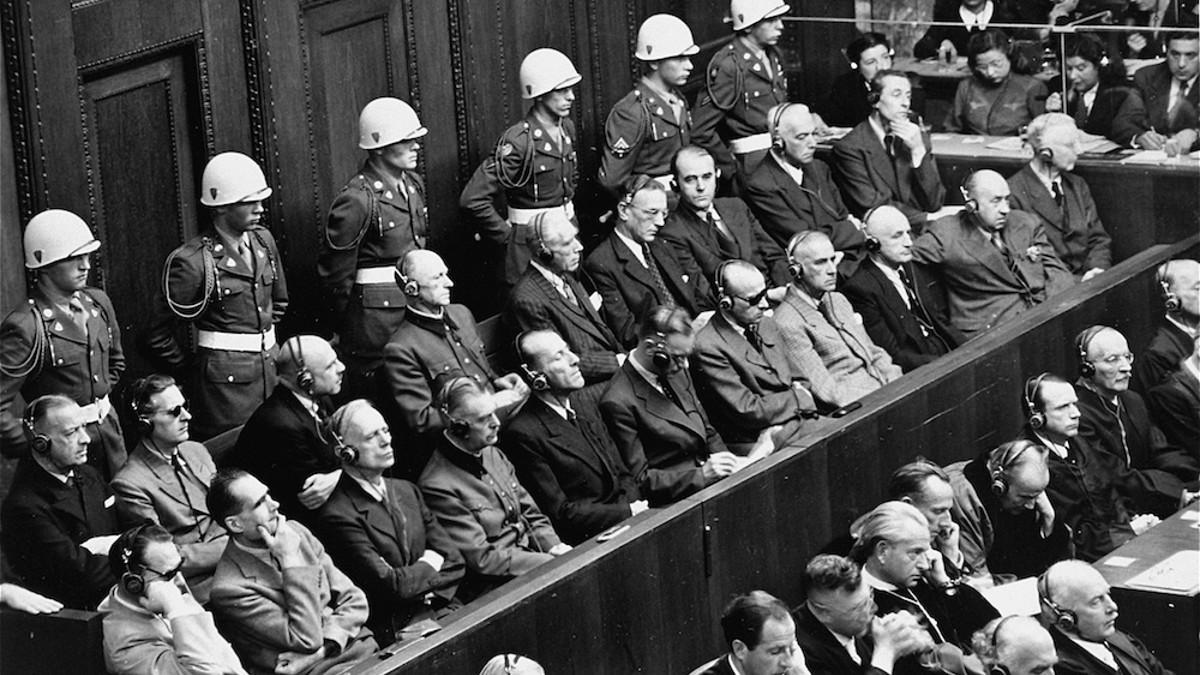 Il processo di Norimberga iniziato il 20 novembre 1945
