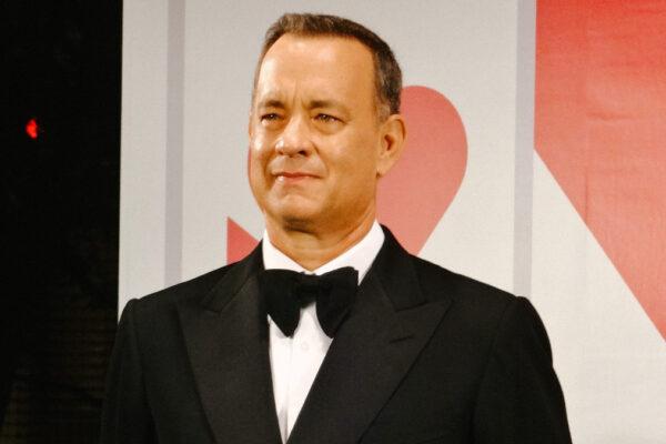 L'attore americano Tom Hanks (foto Dick Thomas Johnson)