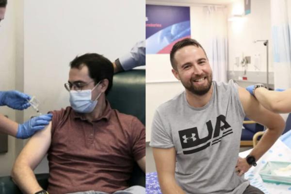 due volontari in Israele sperimentano il vaccino contro il Covid