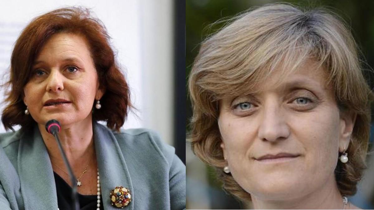 Da sinistra, Ruth Dureghello e Noemi Di Segni