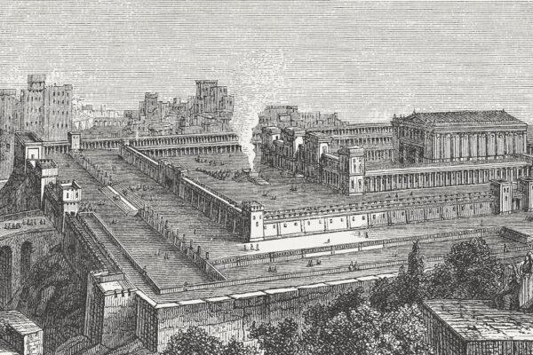 Primo Tempio di Gerusalemme incisione