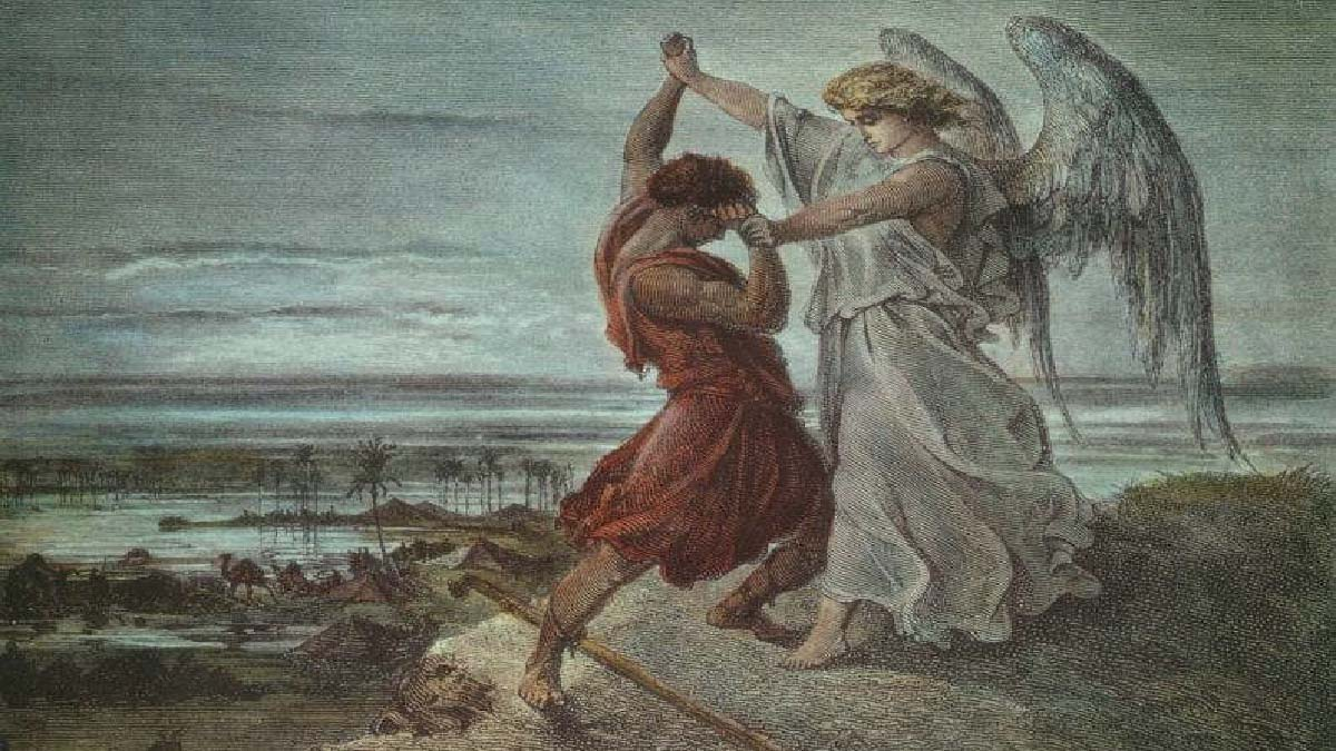 Giacobbe lotta contro l'angelo