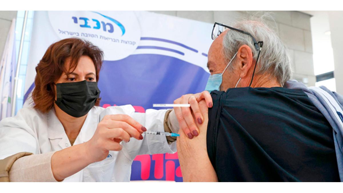 Vaccini anti-Covid in Israele (fonte foto Calcalist)