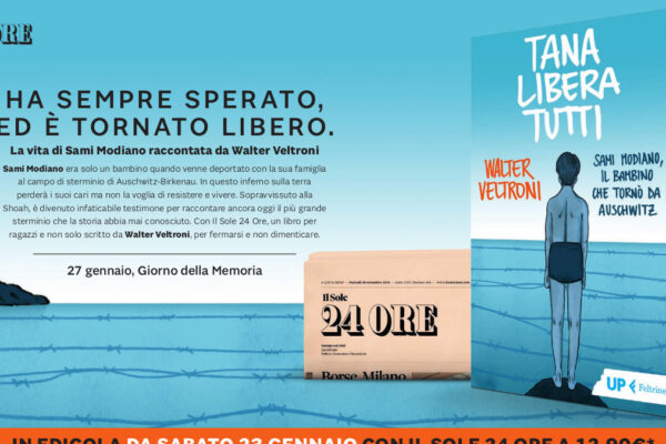 Il libro 'Tana libera tutti' di Walter Veltroni su Sami Modiano