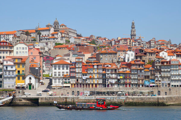 La città di Porto in Portogallo