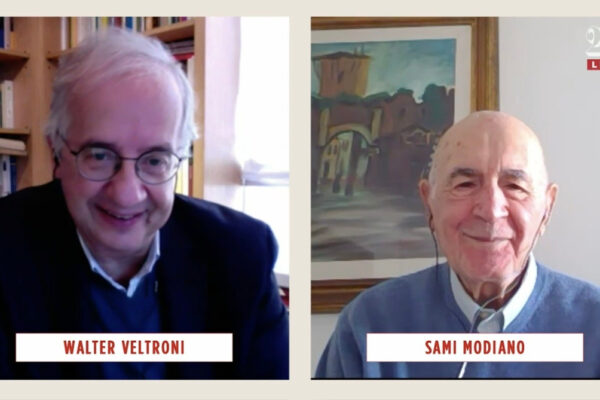 Walter Veltroni e Sami Modiano