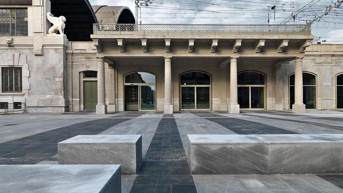 Memoriale della shoah esterno