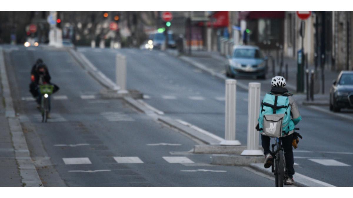 Un rider di food delivery (foto algemeiner)