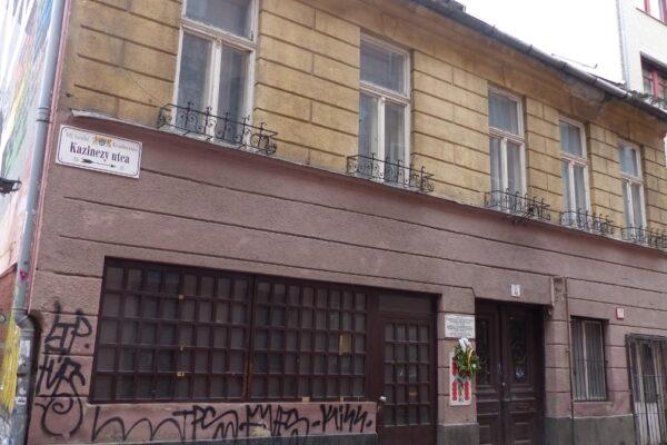 L'edificio di Budapest nel ghetto ebraico che sarà demolito