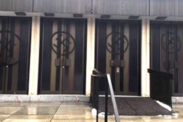 La sinagoga preferita da Leonard Cohen vandalizzata con svastiche