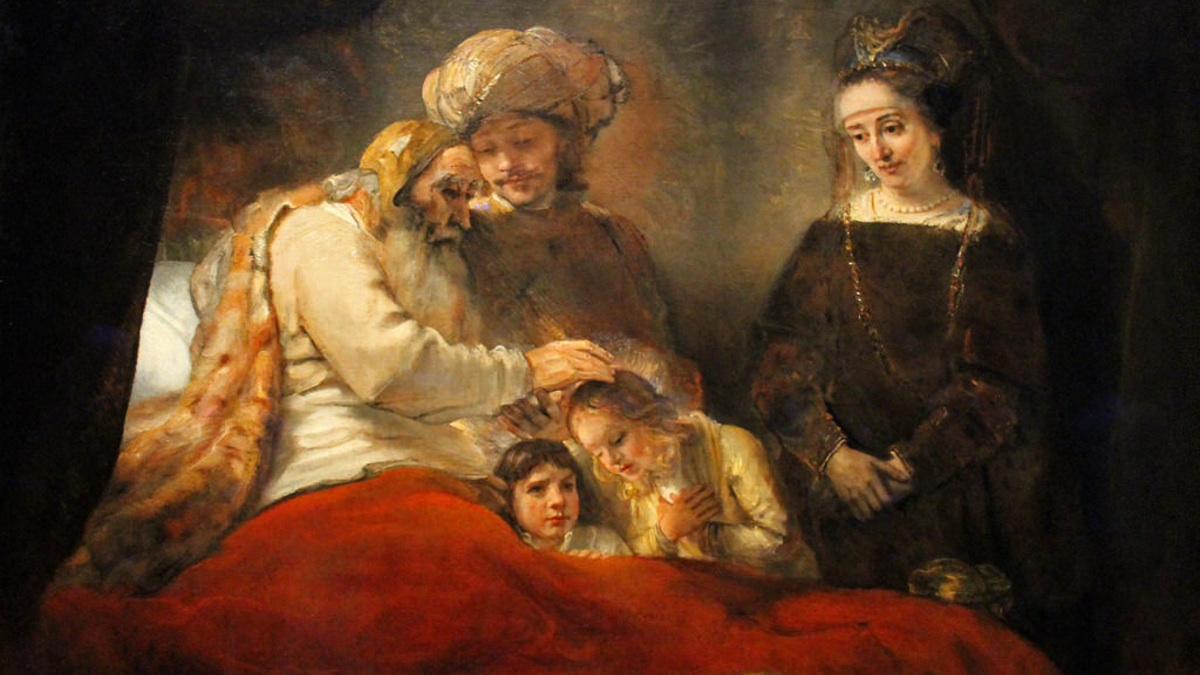 Yaakov benedice i suoi figli