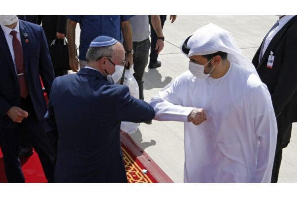 Accordi di Abramo, israeliano ed emiratino si salutano
