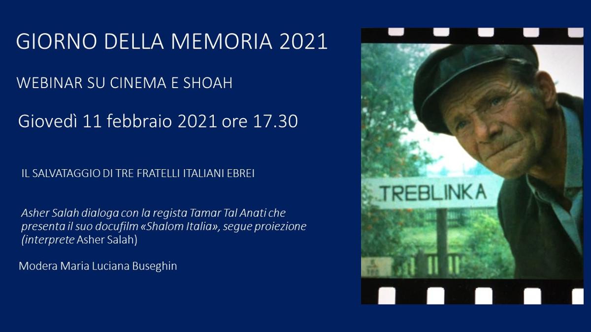 la locandina della presentazione di Shalom Italia