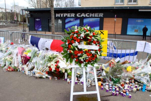 L'hyoper Cacher a Parigi, teatro di un attentato antisemita nel 2015